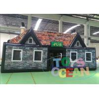 China Yard Tarpaulin Inflatable Pub Bar Tent House With Digital Printing Moving ​ wholesale