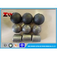 China Chrome iron ball mill grinding cylpebs in cast and forged , Hardness HRC 60-65 wholesale