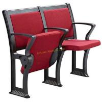 China Comfortable Soft Red Fabric Lecture Hall Seating / Student Classroom Chairs wholesale