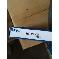 JAPAN KOYO deep groove ball bearing 16013 C3 bearing 60mm*100mm*11mm exporting to all over the world