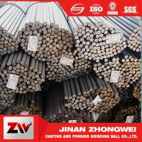 China Forging and Casting Grinding Rod For Mining Low Breakage Long Time Work 50mm wholesale