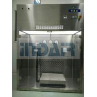 China Stable Air Flow Raw Material Sampling Booth High Safety With Alarm System on sale