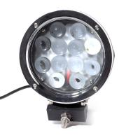 China Super Bright 7 Inch 6000k White 12v / 24v Led Car Lights 60w Led Offroad Work Light wholesale
