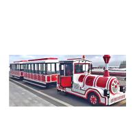 China Shopping Mall Use Lovely Kids Electric Ride On Train , Trackless Train Ride wholesale