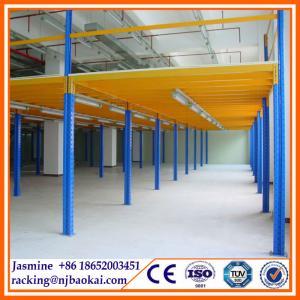 China Warehouse Equipment EU Pallet Rack metal Mezzanine Floor wholesale
