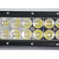 China 36W 60W Vehicle Off Road LED Light Bar With Epistar Chips 12v  24v 7.5Inch 12 LED Worl Light wholesale