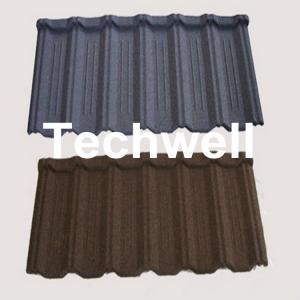 China Automatic Colorful Stone Coated Roof Tile Machine Using Galvalume, Galvanized Steel wholesale