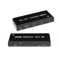 China Black Color HDMI Switch Box Supports Highest Video Resolution 1080p/60Hz on sale
