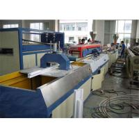 China Double Screw Design Wpc Extrusion Machine / Wood Plastic Composite Production Line wholesale
