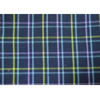 China Plain Style Yarn Dyed Fabric Multi Clolor Grid Pattern For Garment wholesale