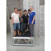 China Mobile Heavy Loading Outdoor Stage Platform Adjustable Height 1.22*1.22m Assembling wholesale