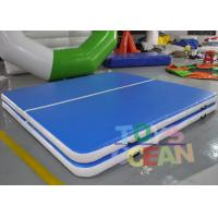 China Inflatable Gymnastics Sealed Jumping Tumble Air Track Fireproof Customized Size wholesale
