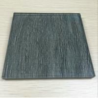 China Green Security Curved Laminated Art Glass Window With Sound Insulation wholesale