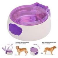 China Sensor pet feeder/ auto open and close pet bowl for cats and dogs/ pet food water wholesale