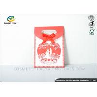 China Nice Design Paper Shopping Bags Durable Environmental Friendly Materials wholesale