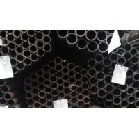 China ERW Q195 Q235B  Black Welded Round Steel Pipe for Furniture Pipe Carbon Mild Steel Pipes on sale