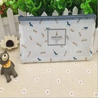 Buy cheap Cute Printing Transparent Zipper Bag Plastic Zipper Pouch With Slide Lock from wholesalers