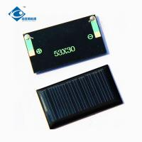 China EPOXY Drip Gel Monocrystalline Solar Panel High Durability With Smooth Surface wholesale