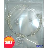 China Unisex Rhinestone Jewelry Beaded Pearl Necklaces Locket for Anniversary 16g OEM wholesale