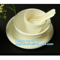 Quality 500ml sugarcane bagasse compostable disposable bowl bagasse pulp paper bowl,microwavable disposable sugarcane paper pulp for sale