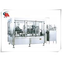 China Fully Automatic Liquid Filling Machine 2800kg Weight Adopting Normal Pressure Gravity wholesale