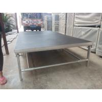 China Portable Aluminum Movable Stage Platform 18mm Plywood Board And Aluminum Frame wholesale