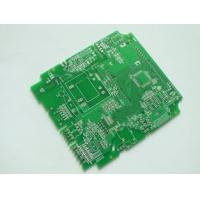 China Silkscreen White Single Sided PCB Gold Plating 0.6mm 2oz Copper FR4 wholesale