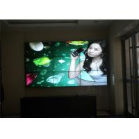 China 3x3 Indoor LED Video Wall With 800cd/M2 LED Backlight For Advertising on sale