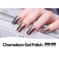 China Healthy Chameleon Gel Nail Polish That Changes Color Bottle / Barrel Package wholesale