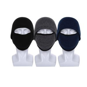 China Windproof Coldproof Multifunctional Knit Beanie Hats With Ear Flaps wholesale