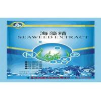 Quality Rich in Alginate & Water Soluble Organic Seaweed Fertilizer Flake for Agricultural for sale