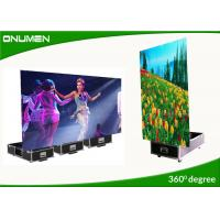 China Advertising P6 Portable Totem Led Display Screen Fast Install And Dismantle wholesale