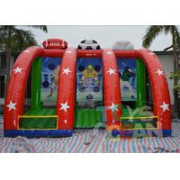 China Digital Printing 3 in 1 Inflatable Sports Game Commercial For Party Rental wholesale