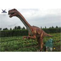 China Outside Zoo Park Decorative Realistic Dinosaur Statues Water And Smoke Spraying wholesale