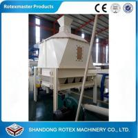 Quality High efficiency 0.8-1.2t/h capacity draft tower cooler for pellet production for sale
