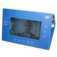 Buy cheap Bespoke Full colors Video In Folder , video brochure card for business gift from wholesalers