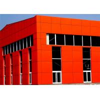 Quality Shining Color Aluminum Architectural Panels For Exterior / Interior Decoration for sale