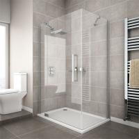 China china supplier cheap corner compact simple tempered glass shower enclosure wholesale