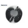 Buy cheap 6063 - T5 Cooler / Radiator / Aluminum Heatsink Extrusion Profiles Black Anodized from wholesalers