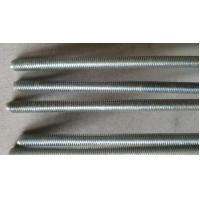China Hardened All Thread RodBar Grade 4.8 Cutting Spiral Grooved Surface Anti Corrosion wholesale