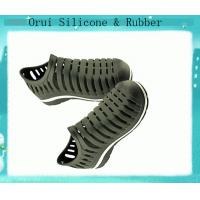 China Suitable waterpfoof  travelling  silicone shoes for men wholesale