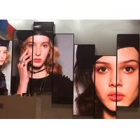 China Full Color Front Service LED Display 3G /WiFi/USB Mirror Standing Digital Poster wholesale