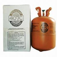 China R407C Refrigerant Gas, Mixed Fluorine Refrigerant, R22 Replacement, Purity 99.9%, OEM Accepted wholesale