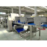 China Z Shape Placed Pastry lamination Machine Customized Belt Width For Danish Pastry wholesale