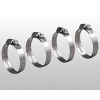China Worm Gear Clamps Stainless Steel 301 on sale