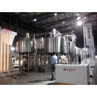 China Touch Screen Large Home Brewing Equipment 2000L Sus304 Brewhouse Equipment for sale