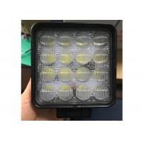 China 4D 48W CREE LED Truck Work Lights 4.5 Inch Square With Long Lifespan wholesale