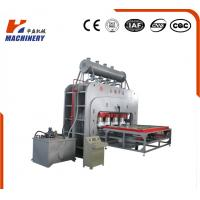 China Multifunctional Hydraulic Hot Press Machine For Singele Veneer Decoration Board wholesale