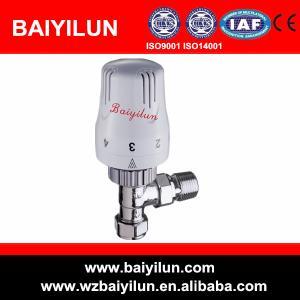 China 15mm brass trv thermostatic radiator valve on sale