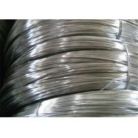China Q195 Low Carbon Galvanized Zinc Coated Steel Wire For Binding / Nail Making wholesale